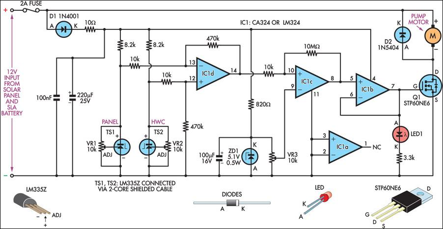 franklin water pump wiring diagram