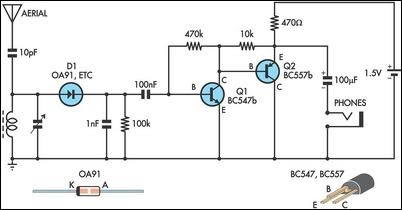 simple electronic projects with circuit diagram