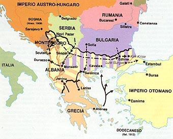 Resultado de imagen de guerra de los balcanes