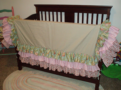 Baby Crib Bed Skirt Pattern Sewing Patterns For Baby