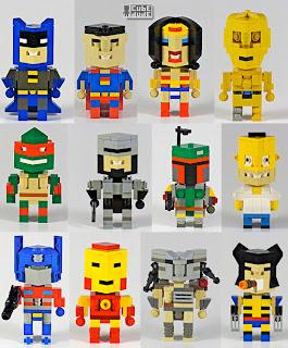 5b2f21ef218 Angus MacLane gosta de construir em LEGO seus personagens favoritos