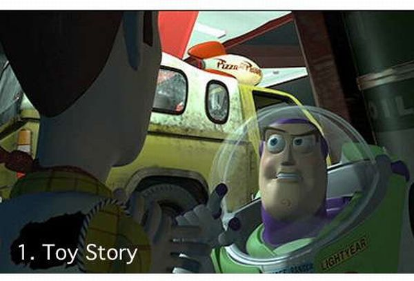 Pixar Pizza Planet Truck Loves to make Cameos