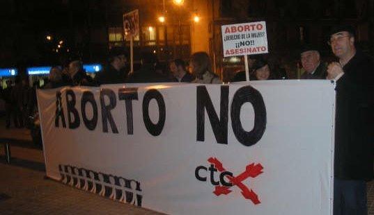 Los carlistas, firmes en su denuncia de la perversidad de cualquier legislación abortista