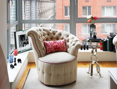 Apartment Peeper: Elizabeth Brockway, Intern at Vogue fashion - Olivia Palermo Apartment Design