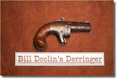 Old west outlaw, Bill Doolin's Derringer