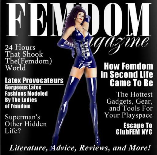 Second Life Fetish Fashion Guide The FEMDOM Magazine
