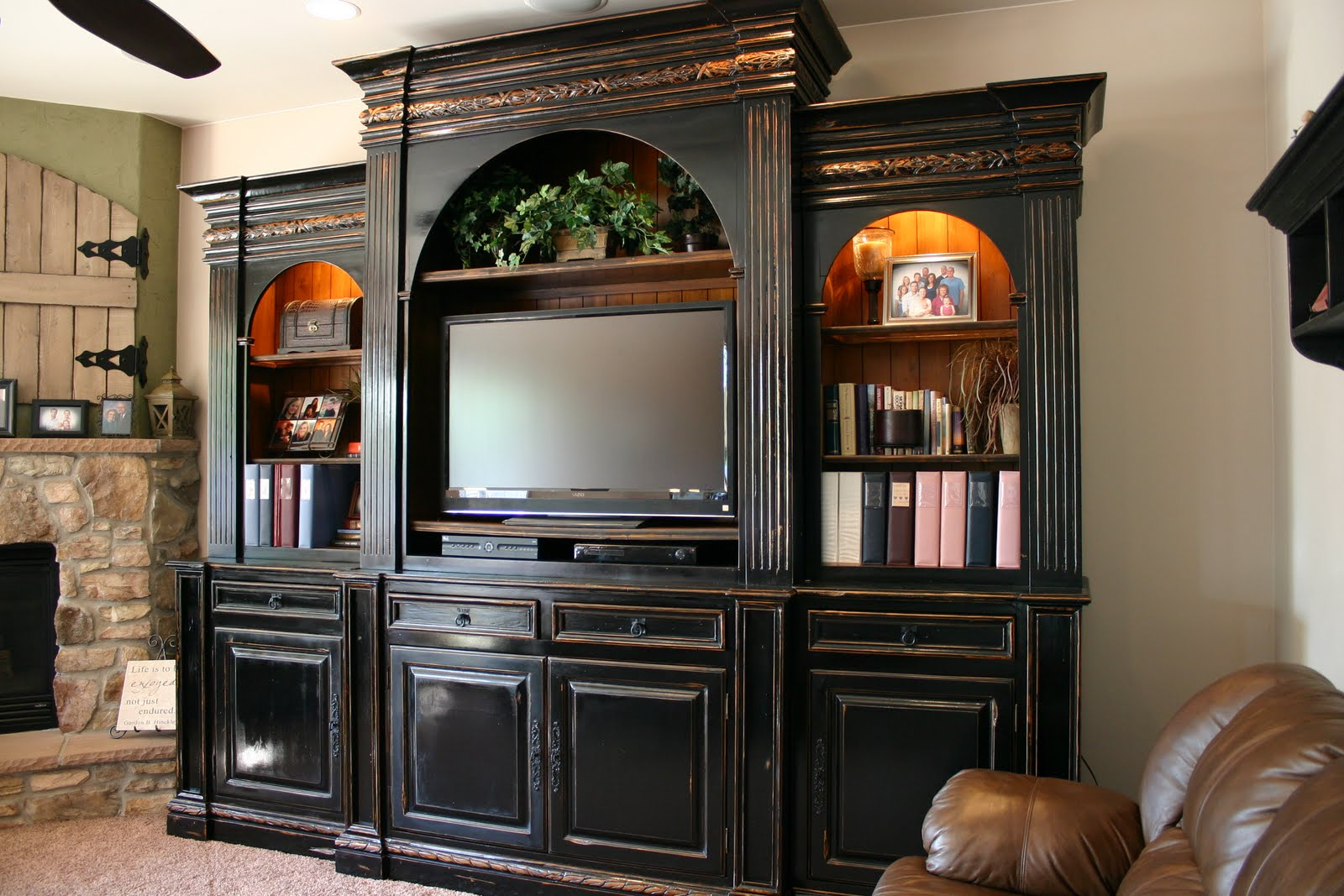 Entertainment Centers Doubletake Decor: Entertainment Center