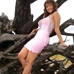 Sexy South Indian Actress Madalasa Sharma In Pink Mini Skirt...