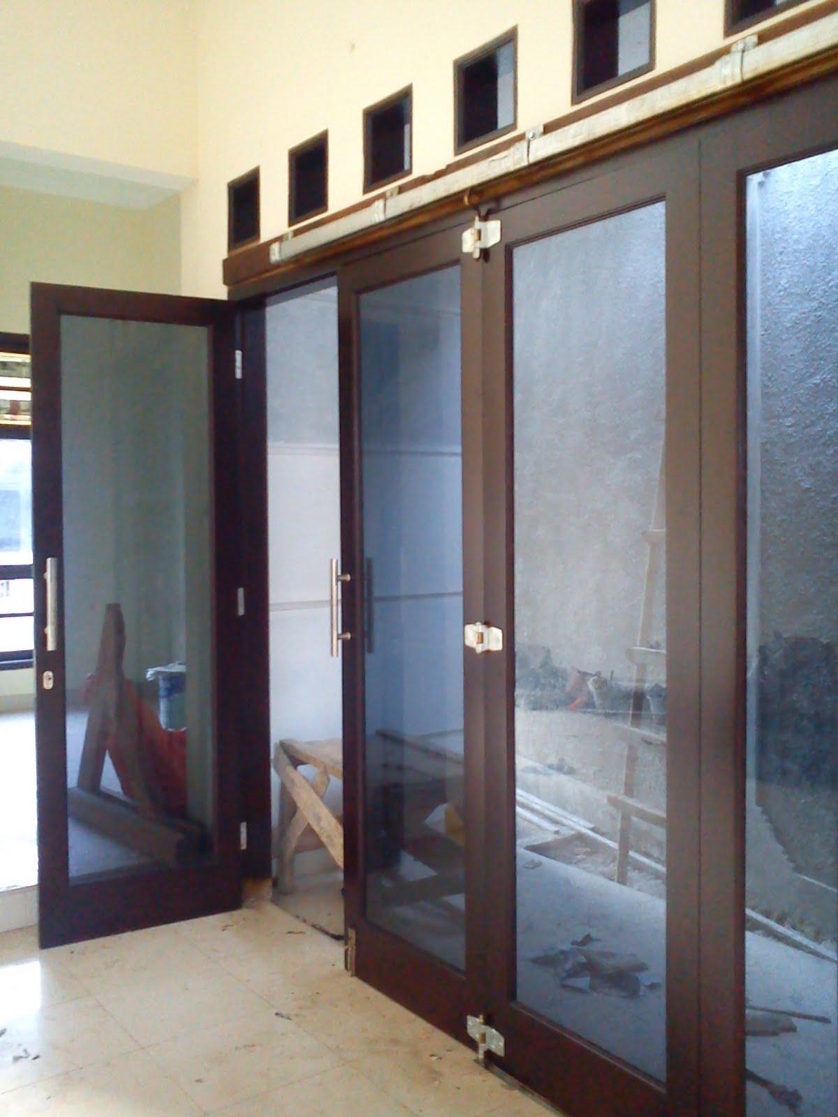 Contoh Pintu Rumah dari Kaca 2016 - Rumah Minimalis