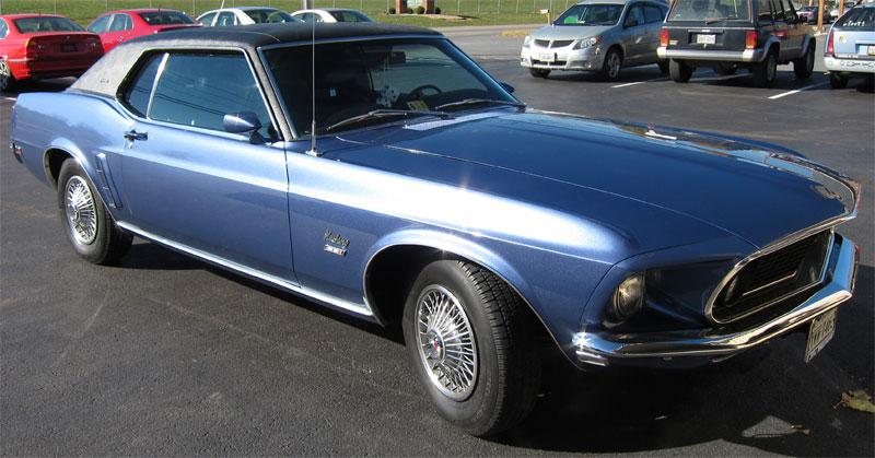 Virginia Classic Mustang Blog Customer Car - 1969 Mustang Grande