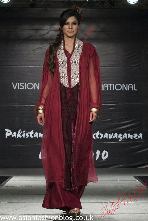 Asian Fashion Blog Ahsan Design Studio At The 2010 Pakistan Fashion Extravaganza