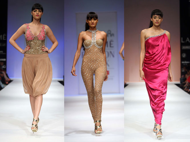 Asian catwalk model