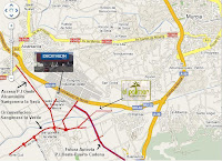 Mapa_comunicaciones_Sangonera_Verde_Murcia