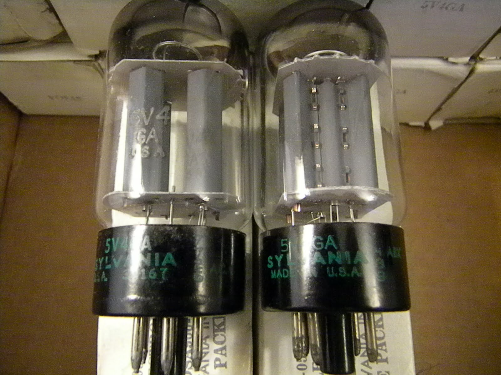 NOS Tube Store: Sylvania 5AR4 / GZ34 Big Bottle-Fat Boy