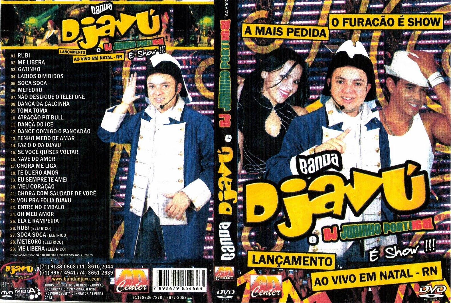 BAIXAR NATAL AO DVD DJAVU VIVO EM BANDA