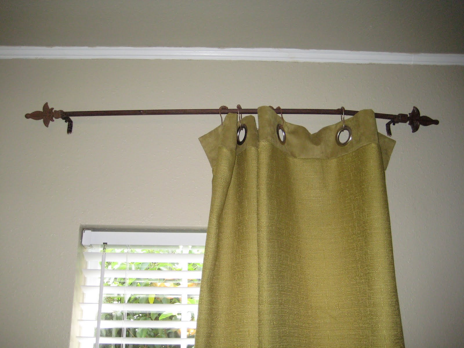 Adventures In Creating Curtain Rods