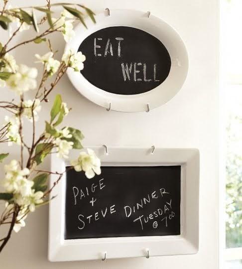 The Rubber Punkin Pottery Barn Inspired Chalk Board