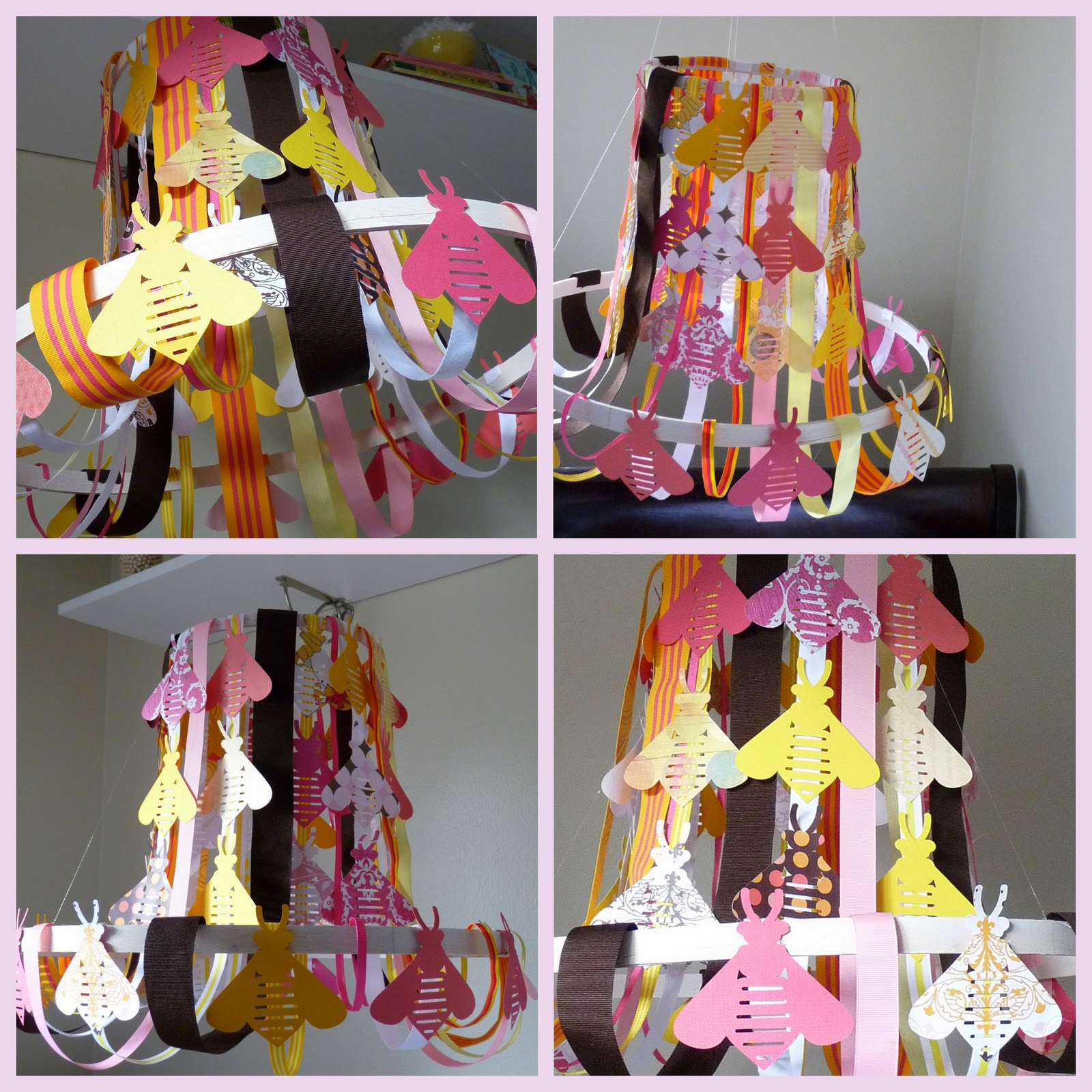 Ribbon Chandelier Diy: Kojotutorial: Pottery Barn Knockoff Chandelier