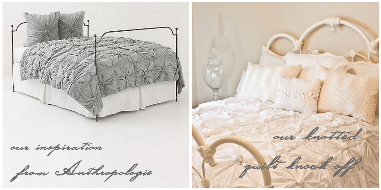 Anthropologie Inspired Bedding