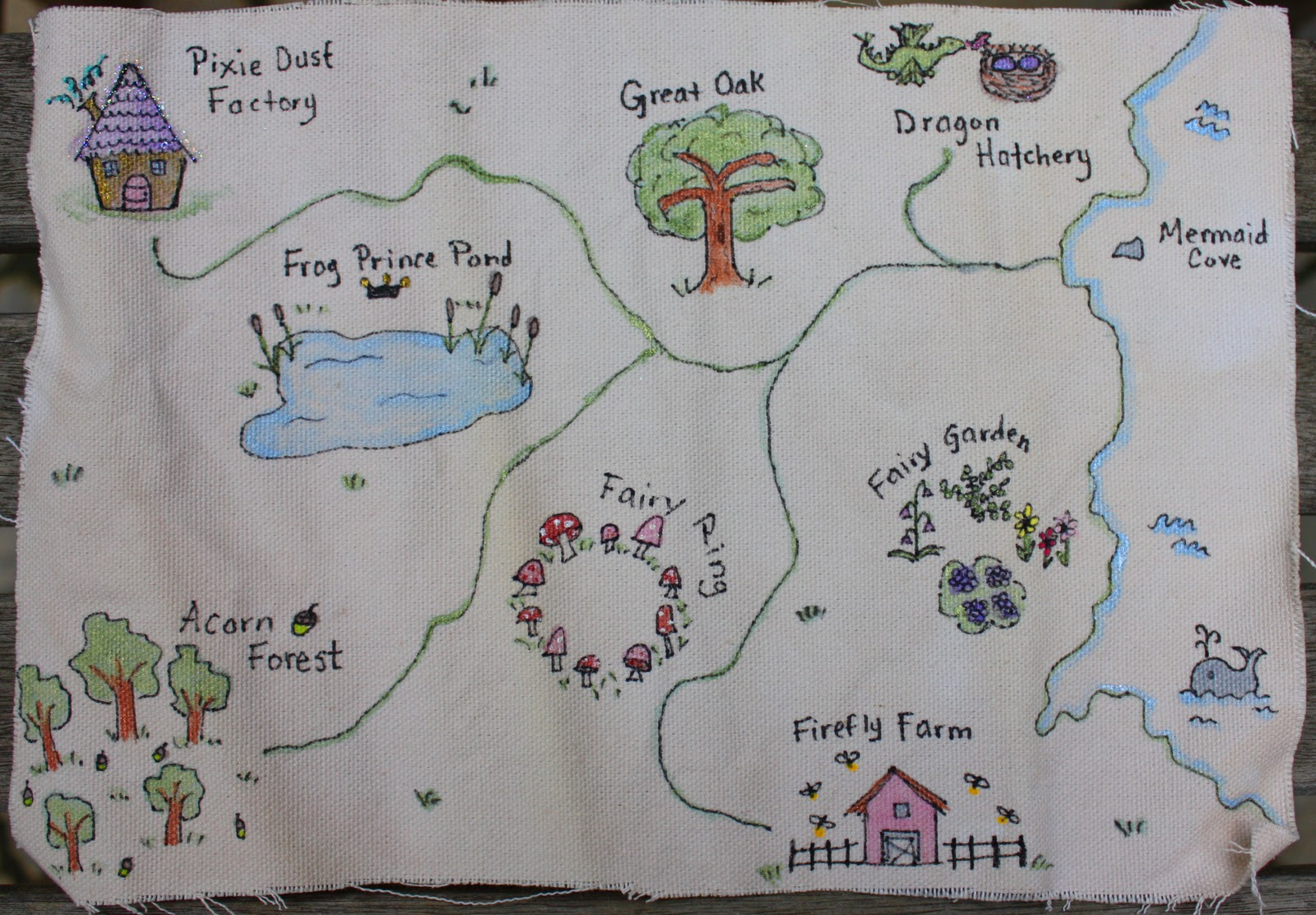 Pirates And Pixies Blog Make Your Own Pirate Map