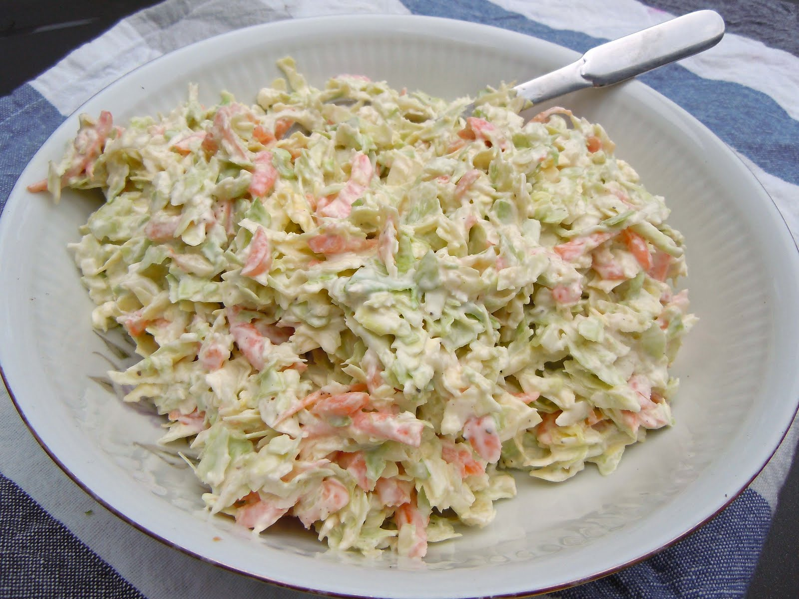 coleslaw lchf turkisk yoghurt
