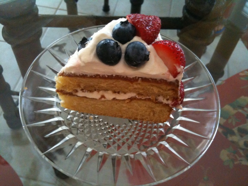 Strawberry Country Cake Ina Garten