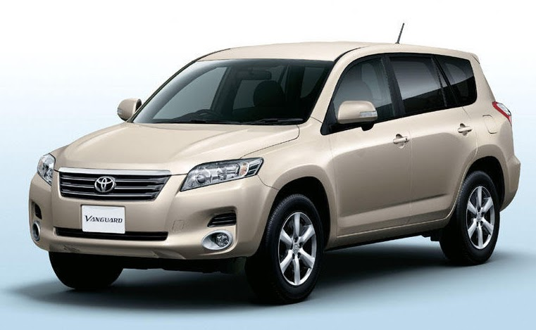 toyota launches 7 seater 39 vanguard 39 suv in japan. Black Bedroom Furniture Sets. Home Design Ideas
