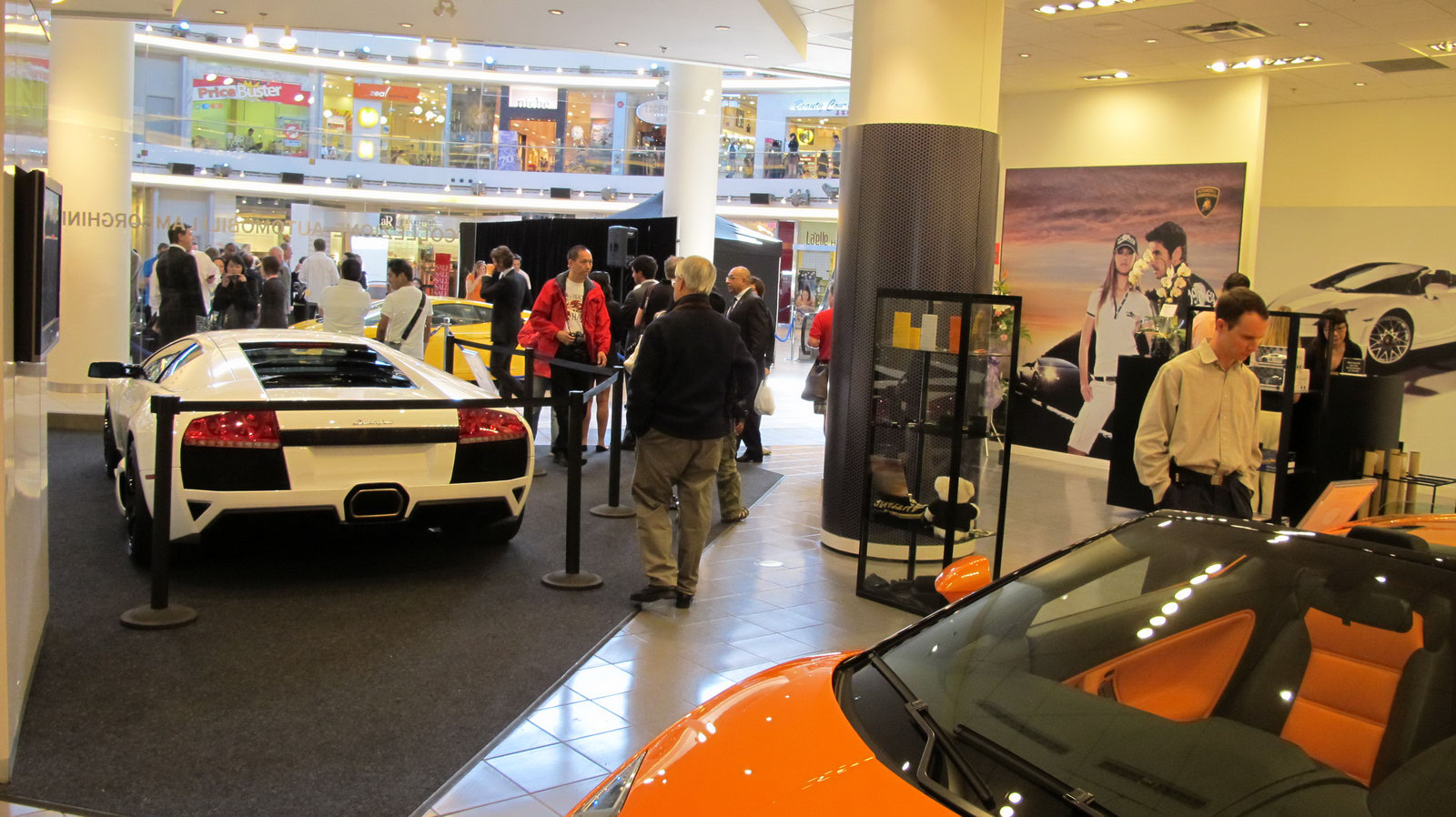The Car Lamborghini Opens Its First Boutique Store In Canada