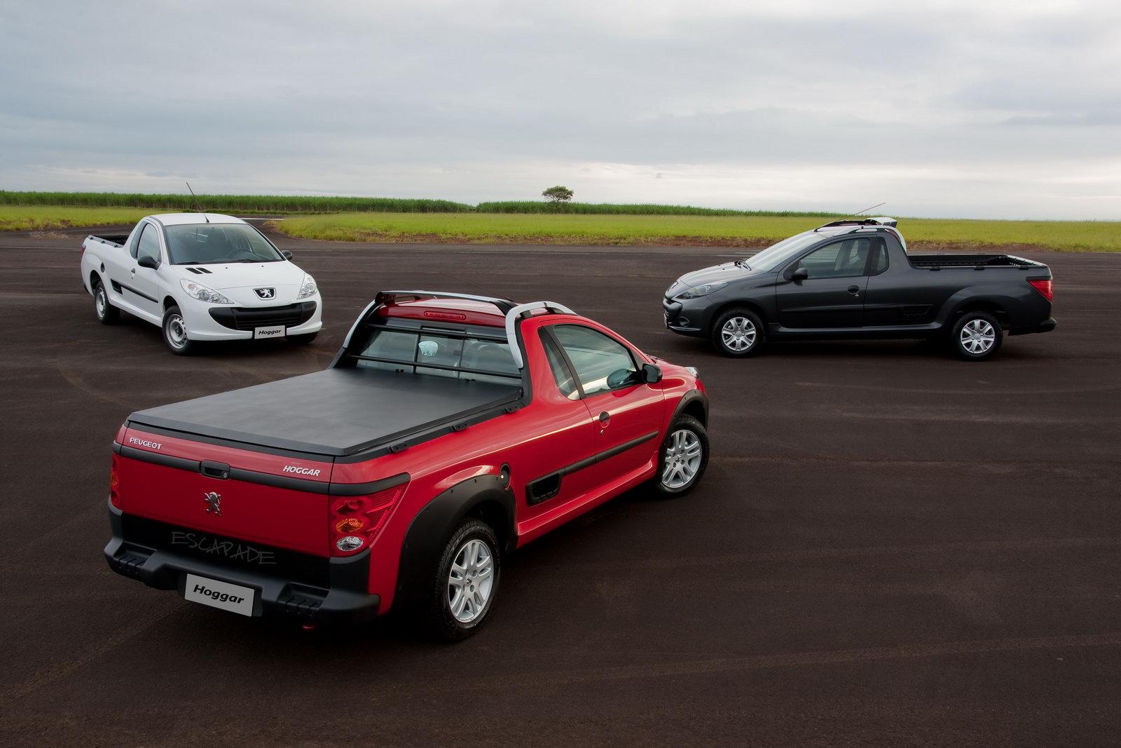 Peugeot Hoggar: Pickup Truck Version of 207 Fully Revealed ...