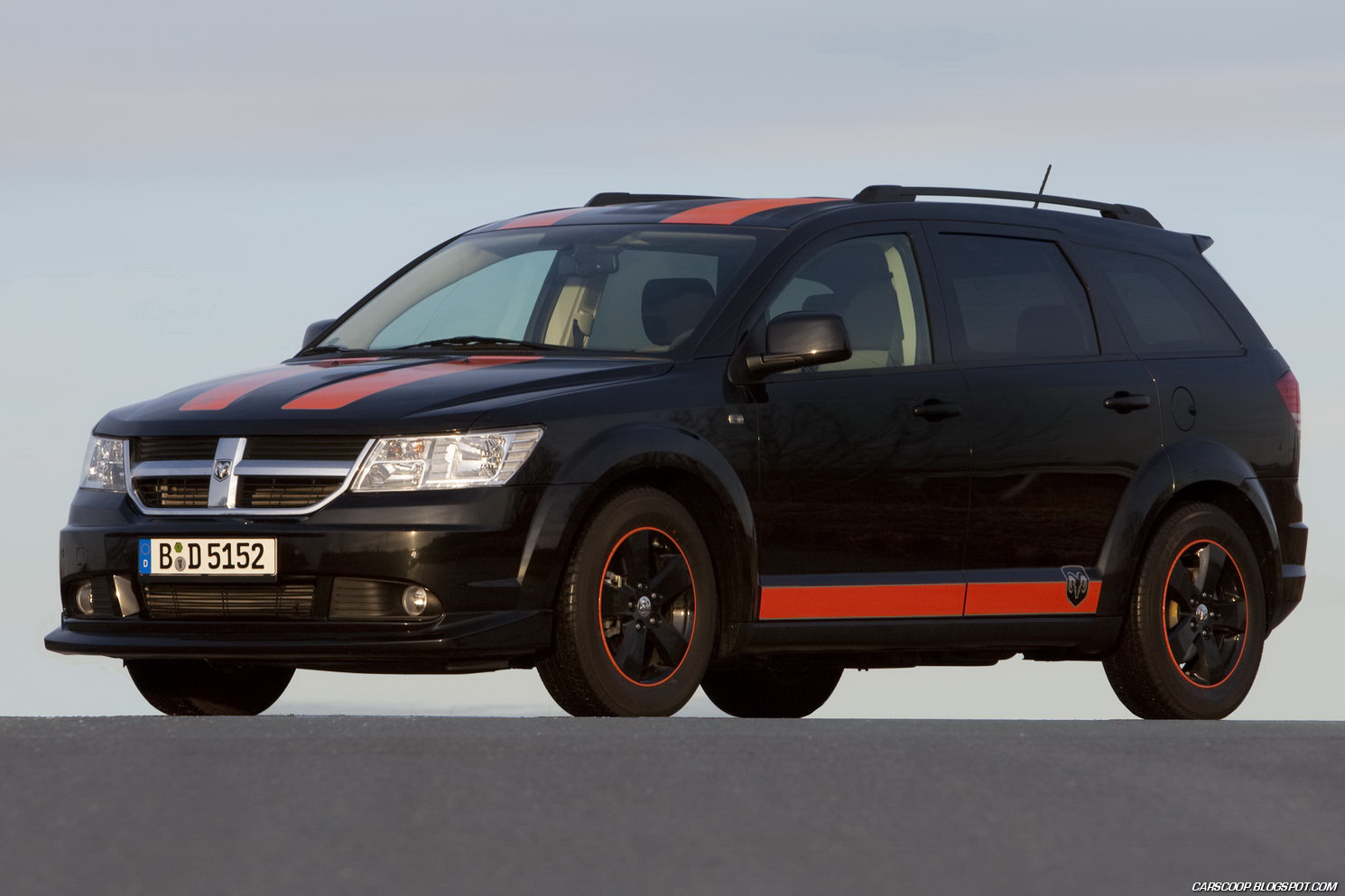 Auto Cars 2011 2012 2011 Dodge Journey Sr Rally Look Special By Irmscher