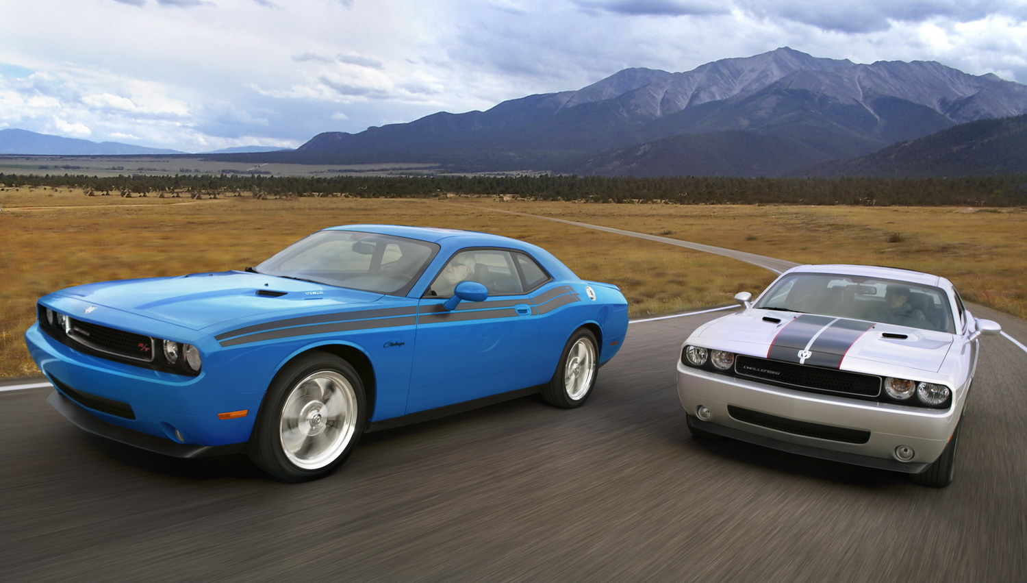 Official 2009 Dodge Challenger Se V6 Rallye With Stripes