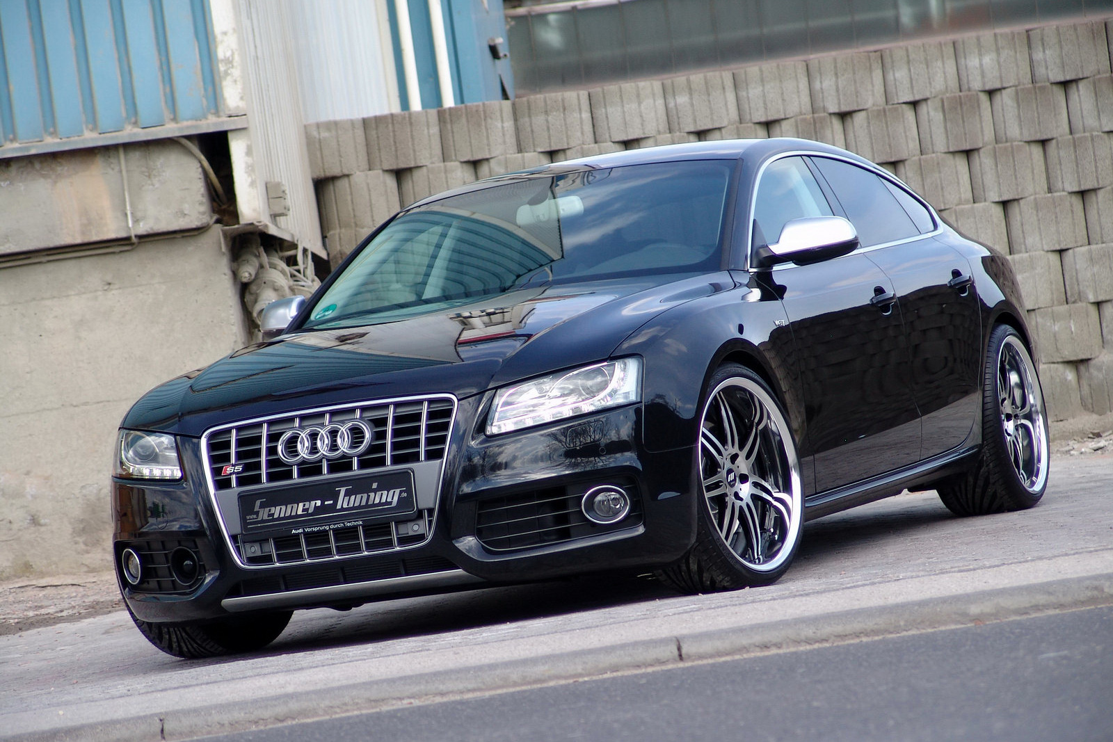 audi s5 sportback grand prix with 375hp by senner tuning. Black Bedroom Furniture Sets. Home Design Ideas
