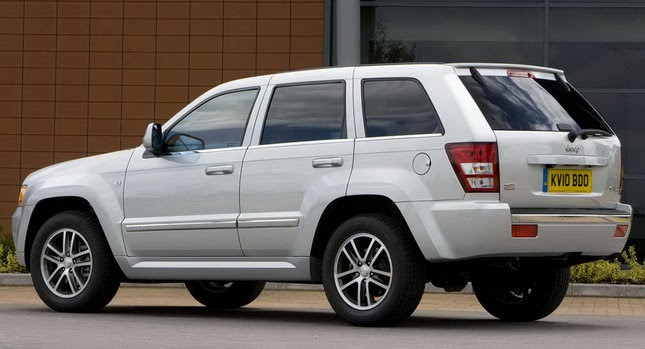 jeep uk reheats 2010 grand cherokee leftovers with srt inspired edition. Black Bedroom Furniture Sets. Home Design Ideas