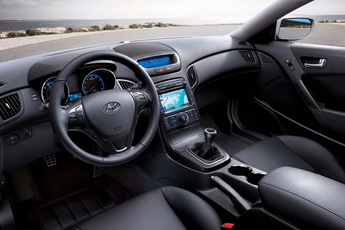 2011 hyundai genesis coupe receives interior refinements and new  [ 1100 x 733 Pixel ]