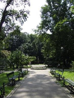 park in Krakow