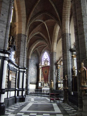 inside the St. Jacobs Church