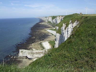 Cliffs at Fécamp