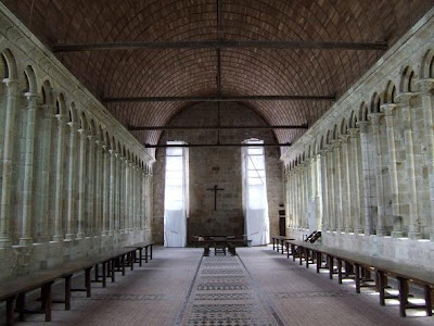 inside the monastery