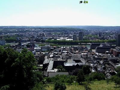View of Liège
