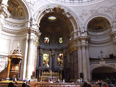 interior cathedral Berliner Dom