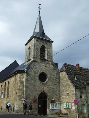 church in Durbuy in Belgium