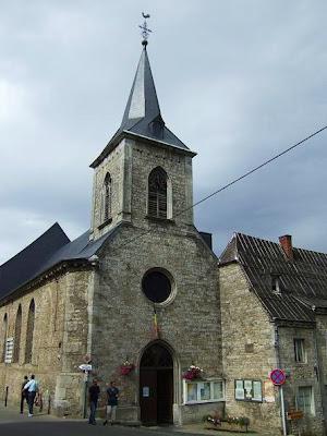 church in Durbuy in Belgium