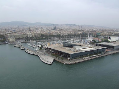Port Vell in Barcelona