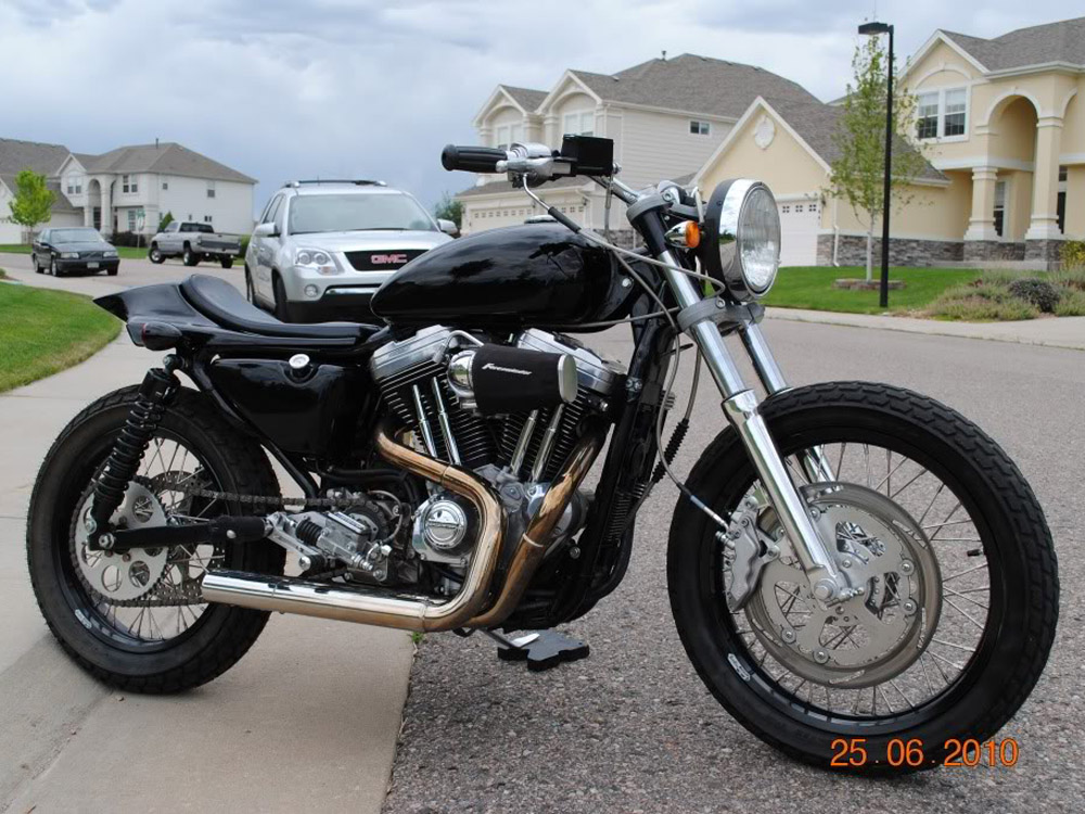 Customer Bike Spotlight Dirt Tracker Inspired Harley Davidson Sportster