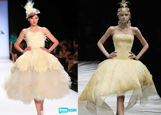 Please Note The Mcqueen Dress Was Written About And In Many Magazines Right Around Time Kenley Designing Her Collection