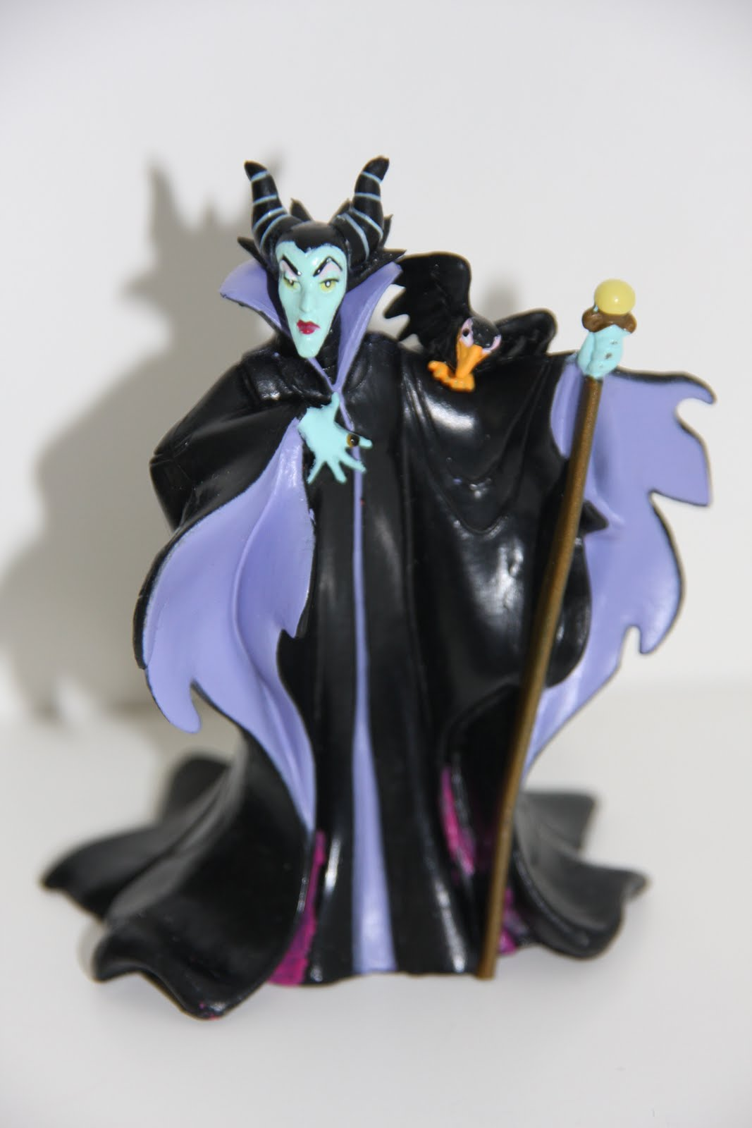 My little figurine collection: 60  Maleficent and Diablo