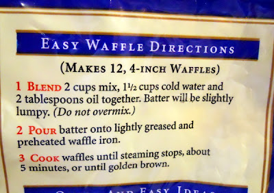 easy waffle directions
