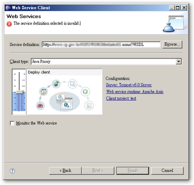 Lib: Create web service client cross SSL with eclipse