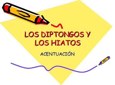 http://www.slideshare.net/profelengua/diptongos-e-hiatos-2