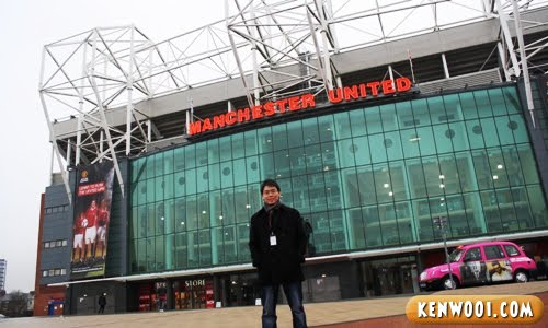 Manchester United S Old Trafford Tour Experience Kenwooi Com